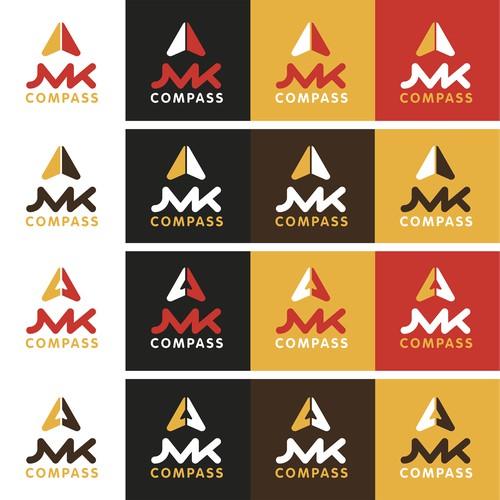 JMK Compass Logo