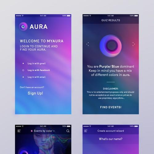Aura iOs app
