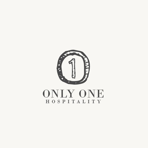 Only One Hospitality Logo Design