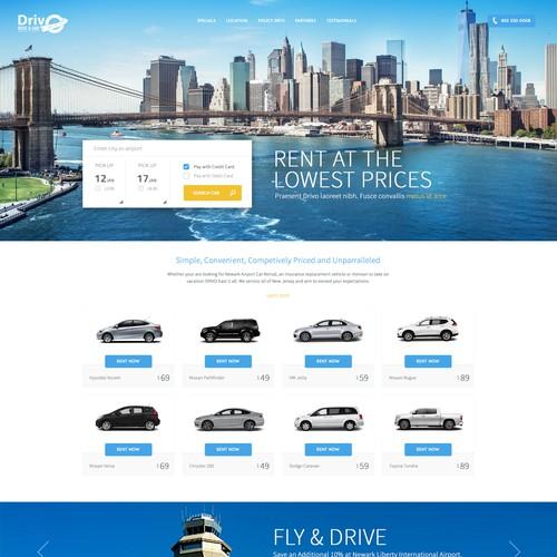 Redesign Drivo.com