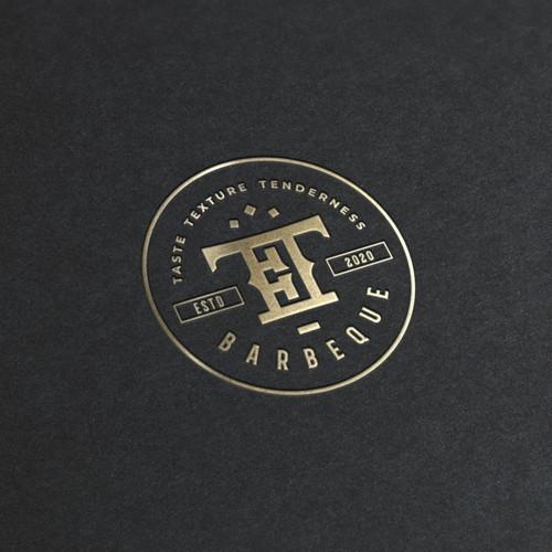 Logo concept Triple T BBQ