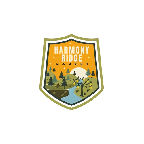 Badge for outdoor food truck