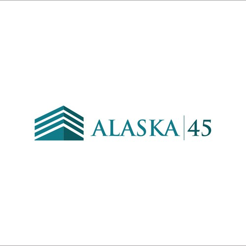 Create an attractive logo for an apartment community Alaska 45