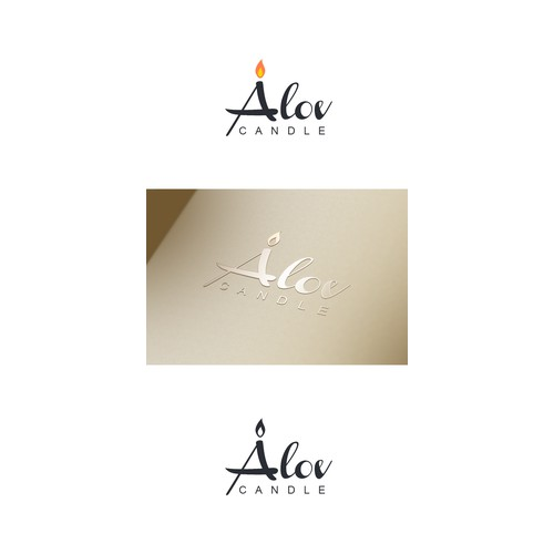 Alov candle needs a new logo