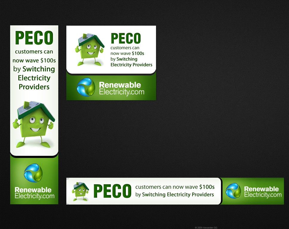 ENERGY themed banners