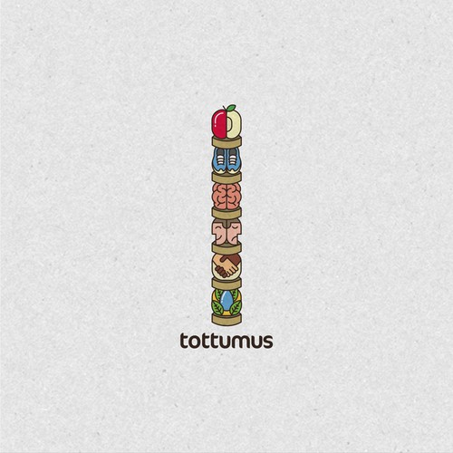 Tottumus unique logo design