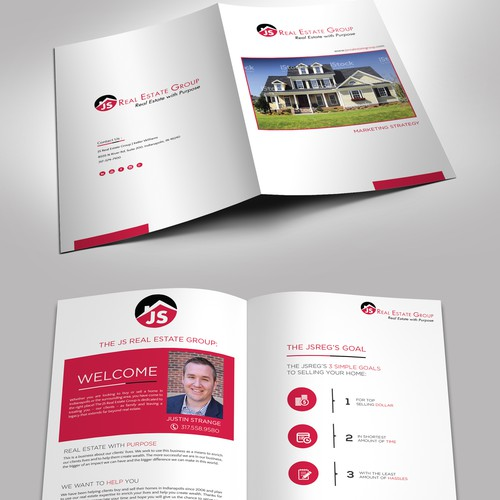 Real Estate Company Needs Design Update to Current Listing Booklet