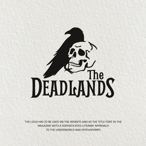 The Deadlands - Logo for New Fiction Magazine