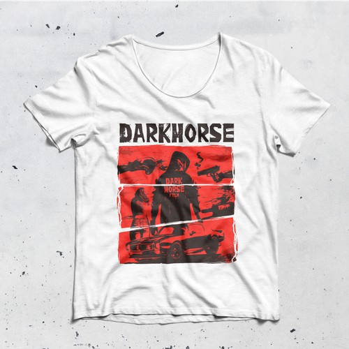 Darkhorse film t-shirt graphic