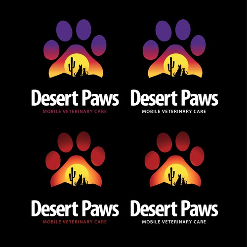 Desert paws logo winner