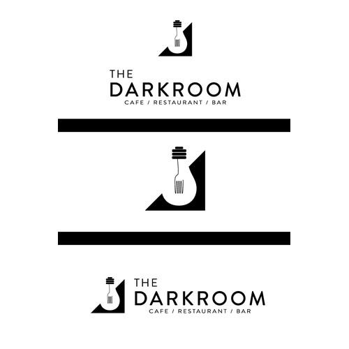 Logo desing for a restaurant The Darkroom