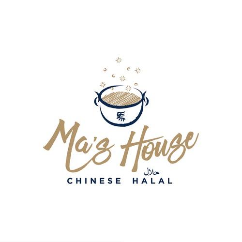 Ma's House Logo