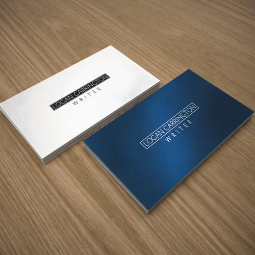 Business card for Logan Carrington