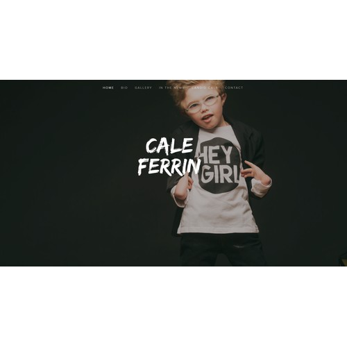 Squarespace Website Design for Cale Ferrin