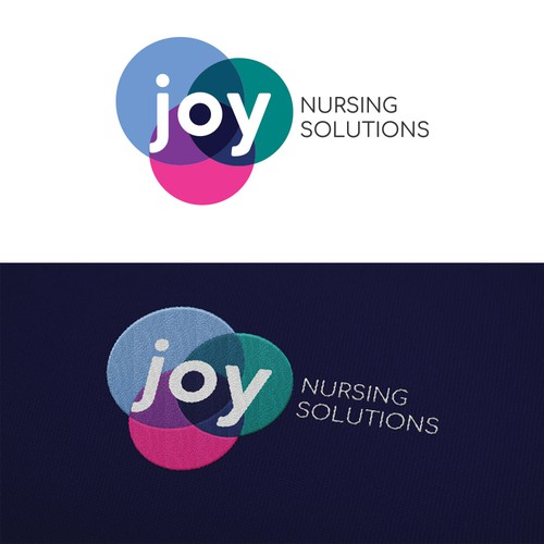 Bold & Simple joy Nursing solutions Logo