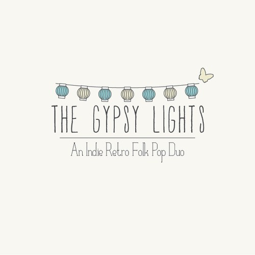 LOGO DESIGN for The Gypsy Lights: An Indie Retro Folk Pop Duo