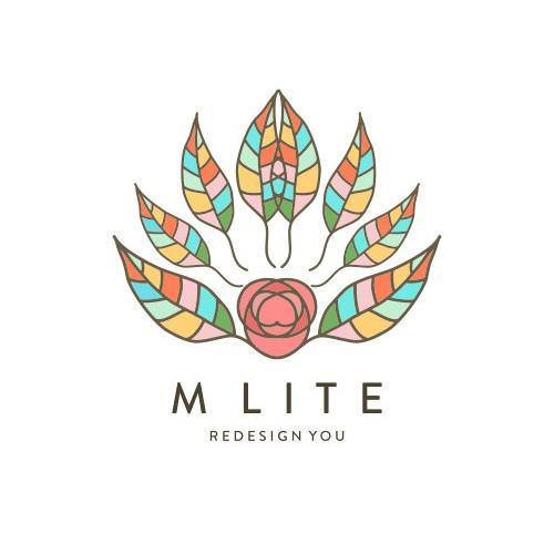 Logo concept for M Lite