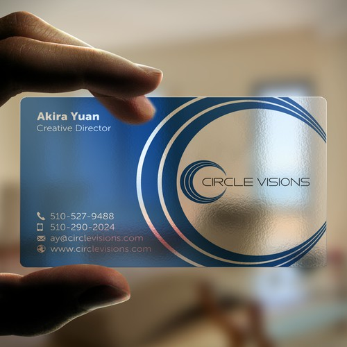 Circle Visions business card