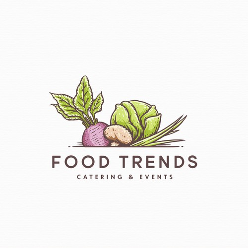 Logo proposal for Food Trend
