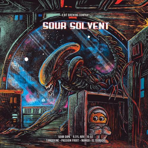 8bit- sour solvent