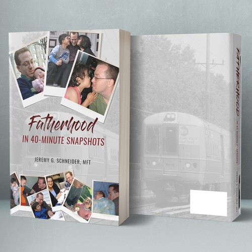 Book cover design for Jeremy G. Schneider, MFT