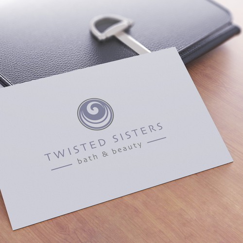 Logo and brand identity for Twisted Sisters
