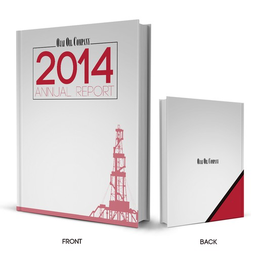 Annual Report cover for classic Californian oil company