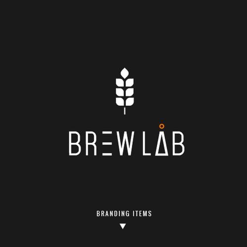 Brewery lab logo