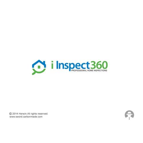 Logo concept for I Inspect 360