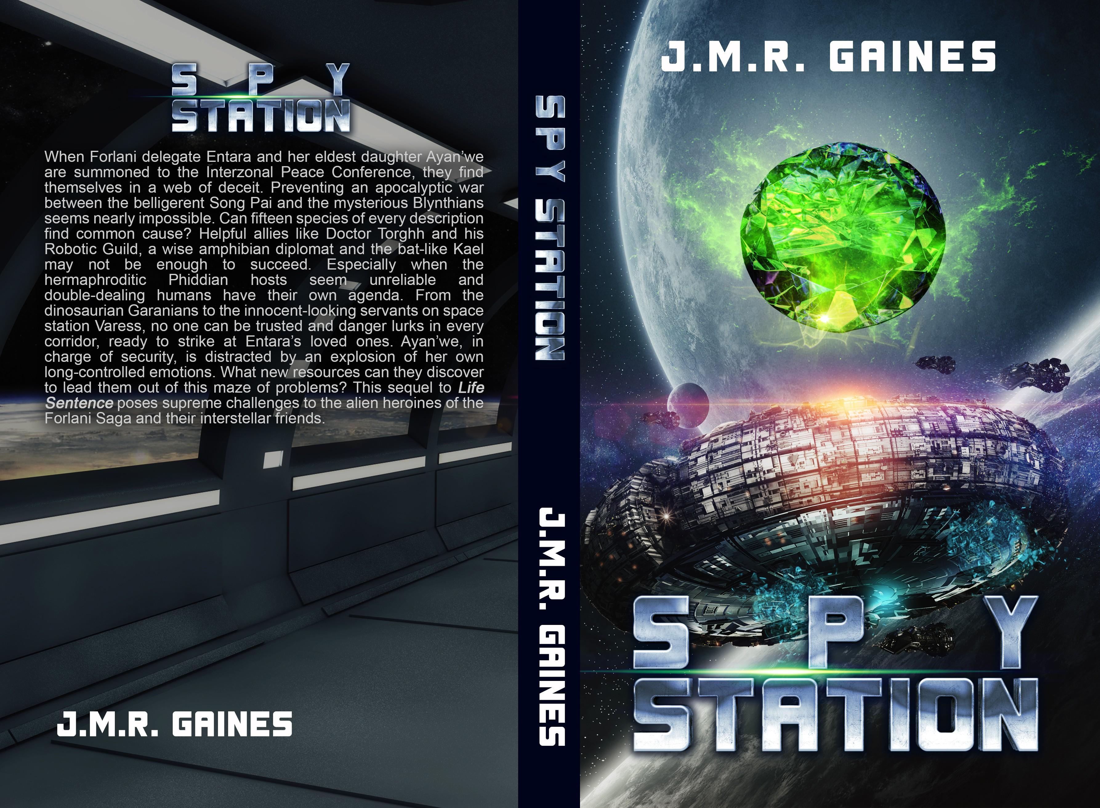 Spy Station Cover
