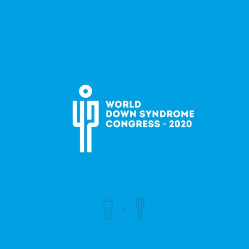 Logo concept for World Down Syndrome Congress (WDSC) 2020