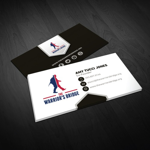 Business Card for a veteran's non profit