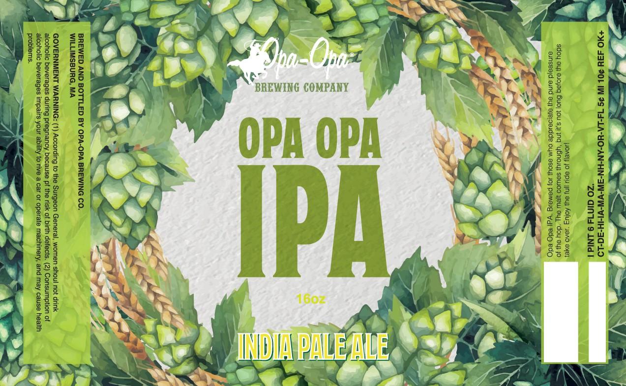 Great IPA beer, need fresh new look!