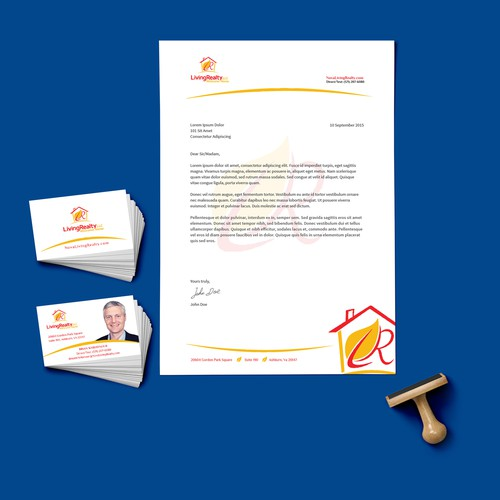 Realtor Business Card & Letterhead