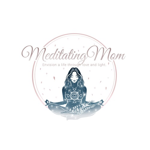 Meditating Mom | Envision a life through love and light.