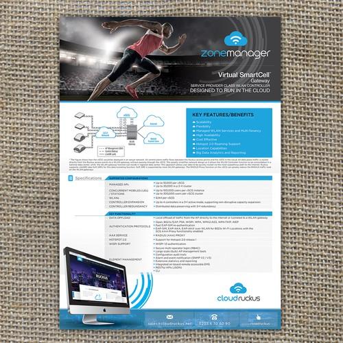 Put our Dog into Print - Datasheet/Brochure Design