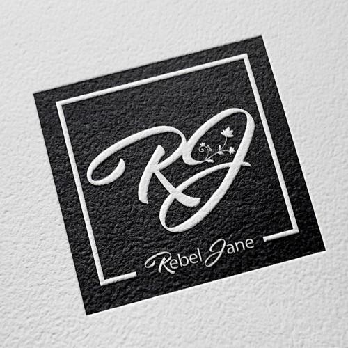Rebel Jane Logo Design MU BLACK