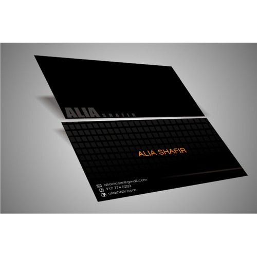 Business Card Design for Technical Product Consultant and Freelancer