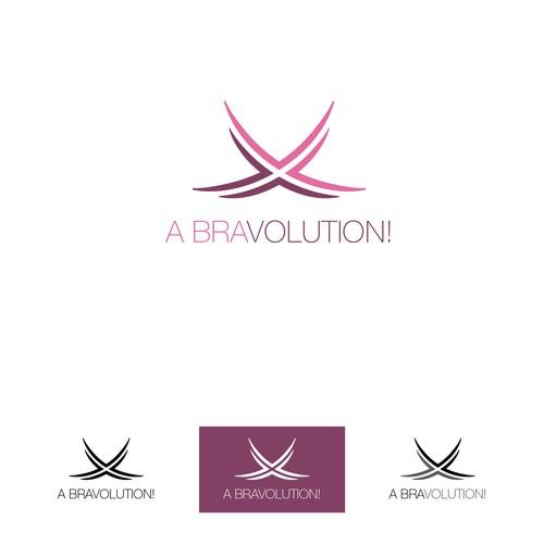 Logo concept for Bravolution (Sports Bra Manufacturer)