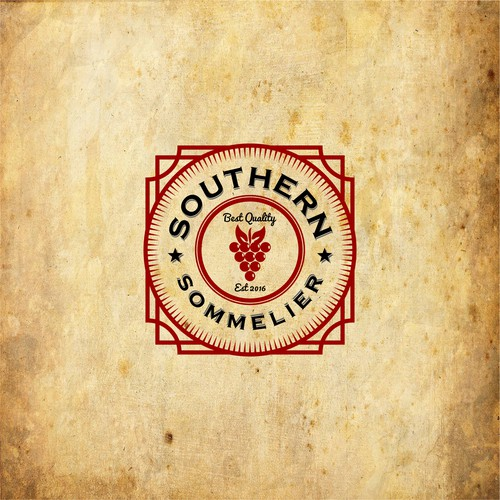 Southern Sommelier Logo Concept