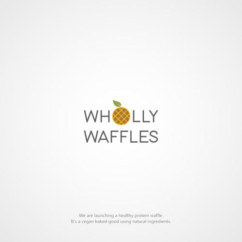 Modern Logo for Wholly Waffles