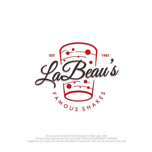 LaBeau's logo design