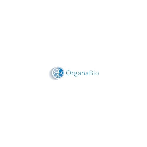 OrganaBio logo design