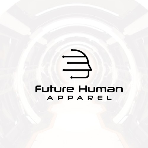 modern logo for future human