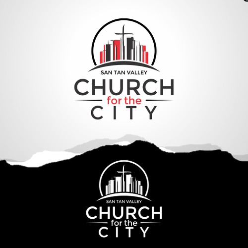 Winning design entry for Church for the City logo.
