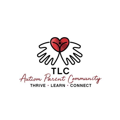 logo for the non-profit TLC Autism Parent Community