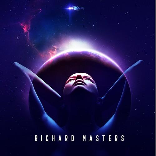 Book cover design- Sci fi