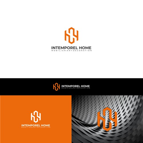 Bold I+H Logo