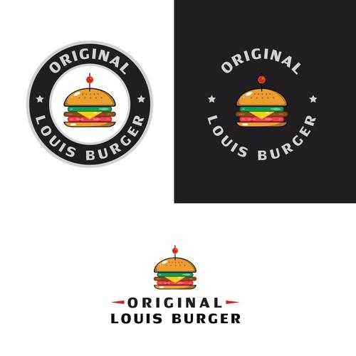 Original burger logo idea