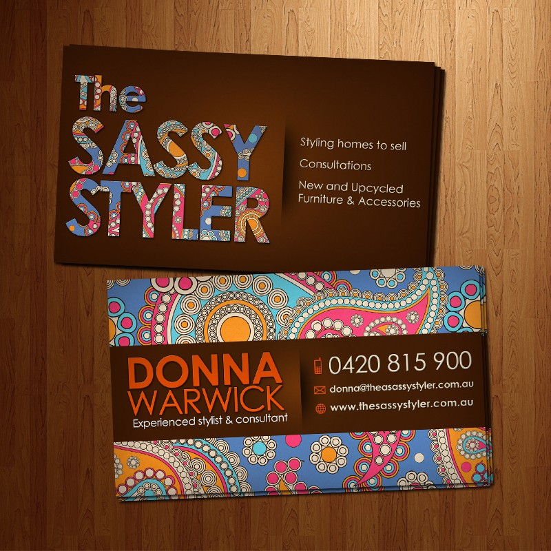 The Sassy Styler needs a new Business Card